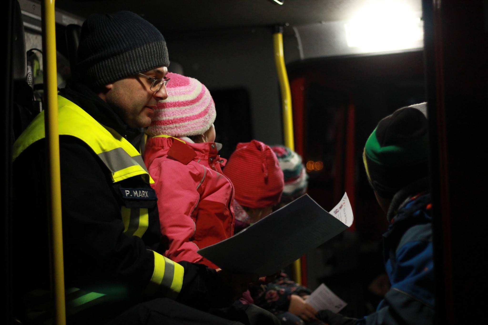 Veranstaltung: Geschichten im Feuerwehrauto – 14.12.2019