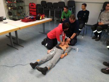 Übung: Lebensrettende Sofortmaßnahmen – 10.05.2019